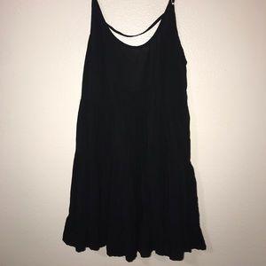 Brandy Melville Babydoll Open Back Dress